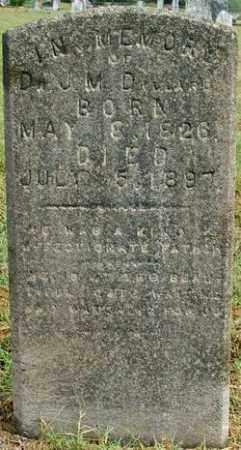 DILLARD, DR J. M. - Sebastian County, Arkansas | DR J. M. DILLARD - Arkansas Gravestone Photos