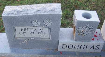 DOUGLAS, FREDA V - Sebastian County, Arkansas | FREDA V DOUGLAS - Arkansas Gravestone Photos