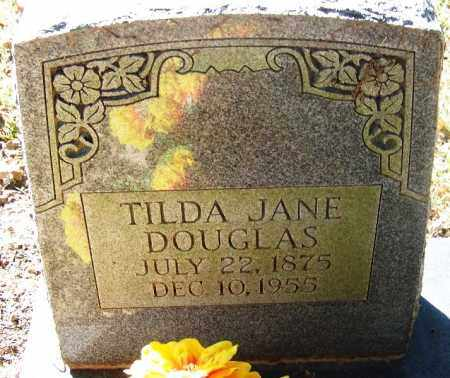 DOUGLAS, TILDA JANE - Sebastian County, Arkansas | TILDA JANE DOUGLAS - Arkansas Gravestone Photos