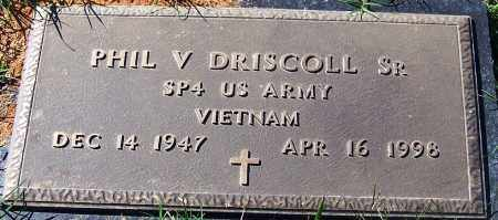 DRISCOLL, SR (VETERAN VIET), PHIL V - Sebastian County, Arkansas | PHIL V DRISCOLL, SR (VETERAN VIET) - Arkansas Gravestone Photos