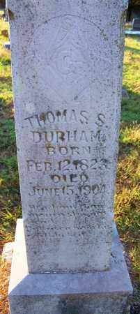 DURHAM, THOMAS S - Sebastian County, Arkansas | THOMAS S DURHAM - Arkansas Gravestone Photos