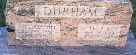 DURHAM, LULA E - Sebastian County, Arkansas | LULA E DURHAM - Arkansas Gravestone Photos
