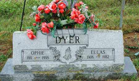 DYER, EULAS - Sebastian County, Arkansas | EULAS DYER - Arkansas Gravestone Photos