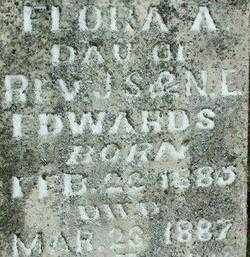 EDWARDS, FLORA A (2) - Sebastian County, Arkansas | FLORA A (2) EDWARDS - Arkansas Gravestone Photos