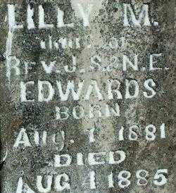EDWARDS, LILY M - Sebastian County, Arkansas | LILY M EDWARDS - Arkansas Gravestone Photos