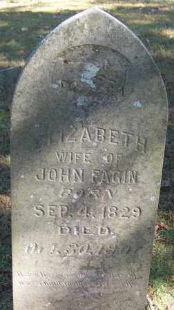 FAGIN, ELIZABETH - Sebastian County, Arkansas | ELIZABETH FAGIN - Arkansas Gravestone Photos