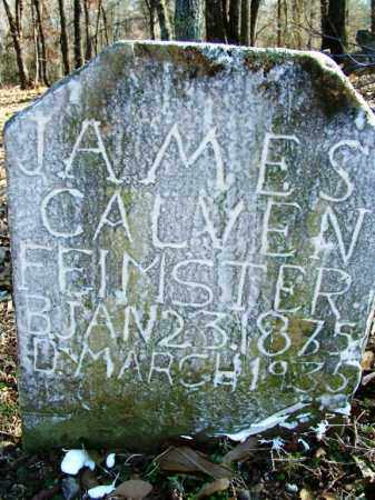 FEIMSTER, JAMES CALVEN - Sebastian County, Arkansas | JAMES CALVEN FEIMSTER - Arkansas Gravestone Photos