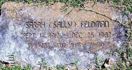 "FELDMAN, SARAH ""SALLY"" - Sebastian County, Arkansas | SARAH ""SALLY"" FELDMAN - Arkansas Gravestone Photos"