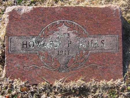 FINKS, HOWARD P. - Sebastian County, Arkansas | HOWARD P. FINKS - Arkansas Gravestone Photos