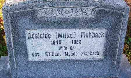 FISHBACK, ADELAIDE - Sebastian County, Arkansas | ADELAIDE FISHBACK - Arkansas Gravestone Photos