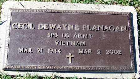 FLANAGAN (VETERAN VIET), CECIL DEWAYNE - Sebastian County, Arkansas | CECIL DEWAYNE FLANAGAN (VETERAN VIET) - Arkansas Gravestone Photos