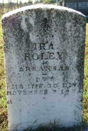 FOLEY (VETERAN), IRA - Sebastian County, Arkansas | IRA FOLEY (VETERAN) - Arkansas Gravestone Photos