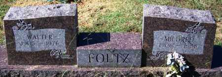 FOLTZ, MILDRED - Sebastian County, Arkansas | MILDRED FOLTZ - Arkansas Gravestone Photos