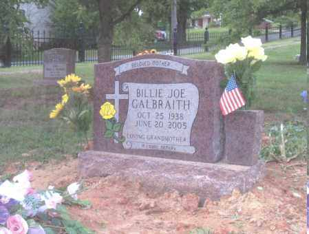 GALBRAITH, BILLIE JOE EGGER - Sebastian County, Arkansas | BILLIE JOE EGGER GALBRAITH - Arkansas Gravestone Photos