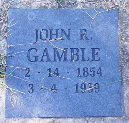 GAMBLE, JOHN R - Sebastian County, Arkansas | JOHN R GAMBLE - Arkansas Gravestone Photos