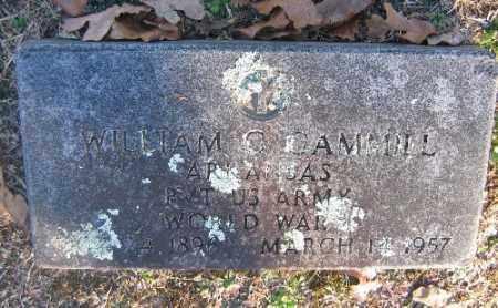 GAMMILL (VETERAN WWI), WILLIAM G - Sebastian County, Arkansas | WILLIAM G GAMMILL (VETERAN WWI) - Arkansas Gravestone Photos