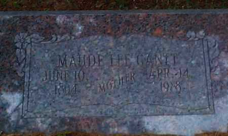 GANTT, MAUDE LEE - Sebastian County, Arkansas | MAUDE LEE GANTT - Arkansas Gravestone Photos