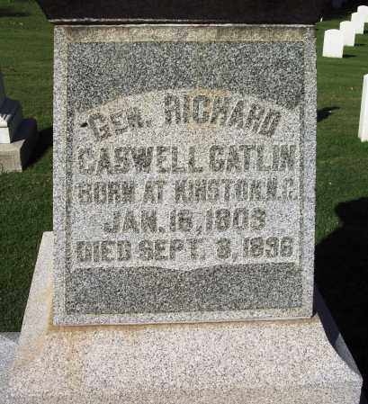 GATLIN (VETERAN; FAMOUS), RICHARD CASWELL - Sebastian County, Arkansas | RICHARD CASWELL GATLIN (VETERAN; FAMOUS) - Arkansas Gravestone Photos