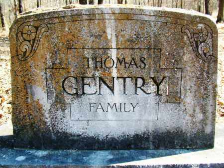 GENTRY, THOMAS - FAMILY PLOT - Sebastian County, Arkansas | THOMAS - FAMILY PLOT GENTRY - Arkansas Gravestone Photos