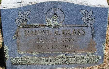 GLASS, DANIEL E. - Sebastian County, Arkansas | DANIEL E. GLASS - Arkansas Gravestone Photos