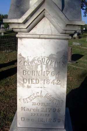 GOOKIN, REBECCA - Sebastian County, Arkansas | REBECCA GOOKIN - Arkansas Gravestone Photos