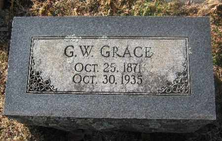 GRACE, G. W. - Sebastian County, Arkansas | G. W. GRACE - Arkansas Gravestone Photos