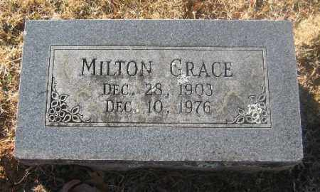 GRACE, MILTON - Sebastian County, Arkansas | MILTON GRACE - Arkansas Gravestone Photos