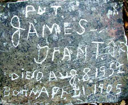 GRANT, JR (VETERAN), JAMES - Sebastian County, Arkansas   JAMES GRANT, JR (VETERAN) - Arkansas Gravestone Photos