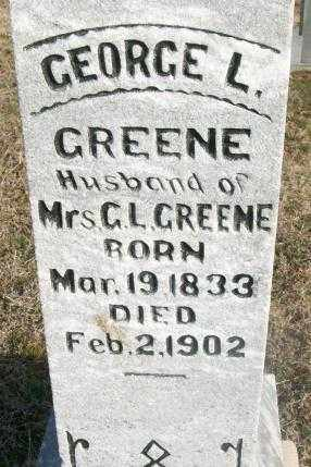 GREENE, GEORGE L. - Sebastian County, Arkansas | GEORGE L. GREENE - Arkansas Gravestone Photos