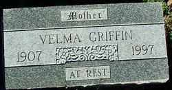 GRIFFIN, VELMA - Sebastian County, Arkansas | VELMA GRIFFIN - Arkansas Gravestone Photos