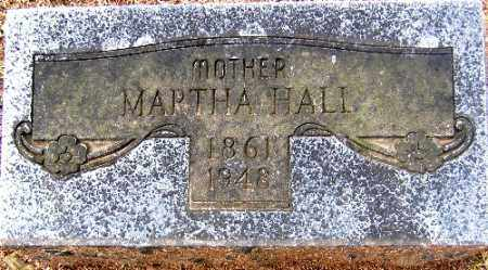HALL, MARTHA - Sebastian County, Arkansas | MARTHA HALL - Arkansas Gravestone Photos