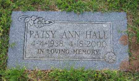 HALL, PATSY ANN - Sebastian County, Arkansas | PATSY ANN HALL - Arkansas Gravestone Photos
