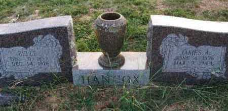 HANCOX, BELLE - Sebastian County, Arkansas | BELLE HANCOX - Arkansas Gravestone Photos
