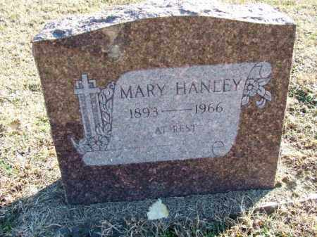 HANLEY, MARY - Sebastian County, Arkansas | MARY HANLEY - Arkansas Gravestone Photos