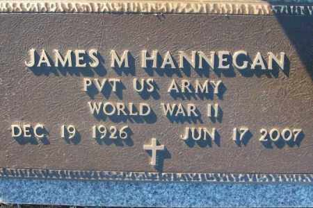 HANNEGAN (VETERAN WWII), JAMES M. - Sebastian County, Arkansas | JAMES M. HANNEGAN (VETERAN WWII) - Arkansas Gravestone Photos