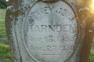 HARNDEN, DEWEY JOHN - Sebastian County, Arkansas | DEWEY JOHN HARNDEN - Arkansas Gravestone Photos