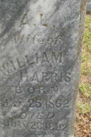 HARRIS, A L - Sebastian County, Arkansas | A L HARRIS - Arkansas Gravestone Photos