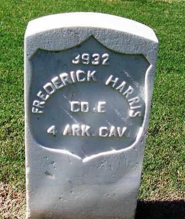 HARRIS (VETERAN UNION), FREDERICK - Sebastian County, Arkansas | FREDERICK HARRIS (VETERAN UNION) - Arkansas Gravestone Photos