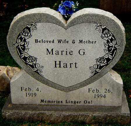 HART, MARIE G. - Sebastian County, Arkansas | MARIE G. HART - Arkansas Gravestone Photos