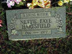 HARTSFIELD, NETTIE FAYE - Sebastian County, Arkansas | NETTIE FAYE HARTSFIELD - Arkansas Gravestone Photos