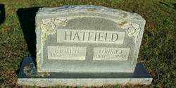 HATFIELD, LONNIE E. - Sebastian County, Arkansas | LONNIE E. HATFIELD - Arkansas Gravestone Photos