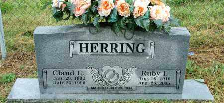 HERRING, CLAUD E. - Sebastian County, Arkansas | CLAUD E. HERRING - Arkansas Gravestone Photos