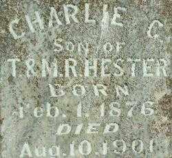 HESTER, CHARLIE C. (2) - Sebastian County, Arkansas | CHARLIE C. (2) HESTER - Arkansas Gravestone Photos
