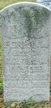 HESTER, PERRY L. - Sebastian County, Arkansas | PERRY L. HESTER - Arkansas Gravestone Photos