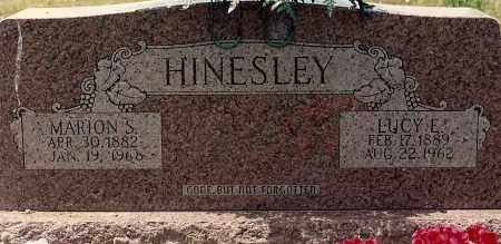 MCCLAIN HINESLEY, LUCY - Sebastian County, Arkansas | LUCY MCCLAIN HINESLEY - Arkansas Gravestone Photos