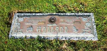 HOLLAND, AGNES LEAFY - Sebastian County, Arkansas | AGNES LEAFY HOLLAND - Arkansas Gravestone Photos
