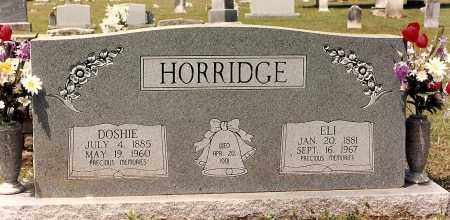 HORRIDGE, DOSHIE - Sebastian County, Arkansas | DOSHIE HORRIDGE - Arkansas Gravestone Photos