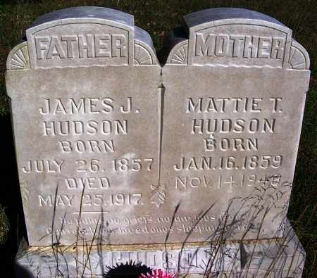 HUDSON, JAMES J. - Sebastian County, Arkansas | JAMES J. HUDSON - Arkansas Gravestone Photos