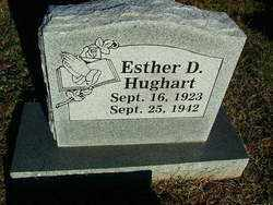 HUGHART, ESTHER D. - Sebastian County, Arkansas | ESTHER D. HUGHART - Arkansas Gravestone Photos