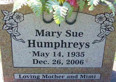 HUMPHREYS, MARY SUE - Sebastian County, Arkansas | MARY SUE HUMPHREYS - Arkansas Gravestone Photos
